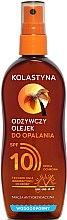 Kup Wodoodporny odżywczy olejek do opalania SPF 10 - Kolastyna