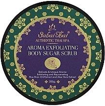 Kup Aromatyczny złuszczający peeling cukrowy do ciała z olejem z otrębów ryżowych i aloesem - Sabai Thai Rice Milk Aroma Exfoliating Body Sugar Scrub