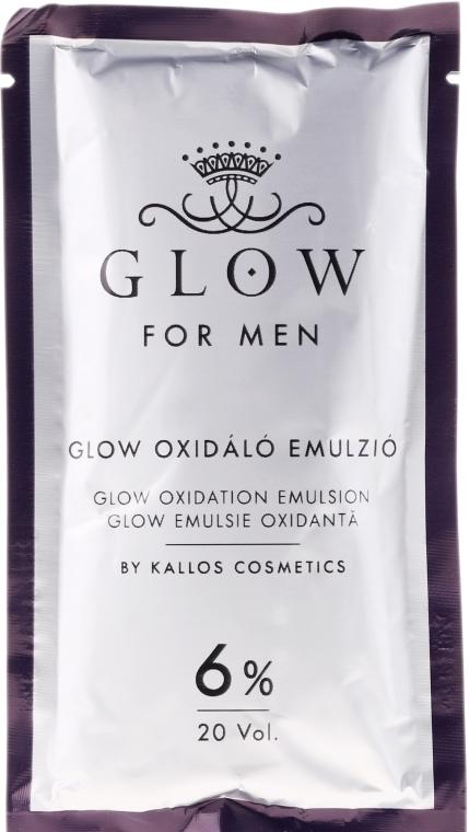 Farba do włosów - Kallos Cosmetics Glow Long Lasting Cream Hair Colour Man — фото N4