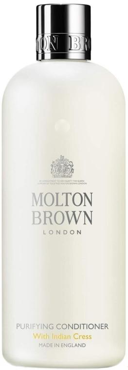 Oczyszczająca odżywka stymulująca wzrost włosów z ekstraktem z rukwi wodnej - Molton Brown Purifying Conditioner With Indian Cress — фото N1