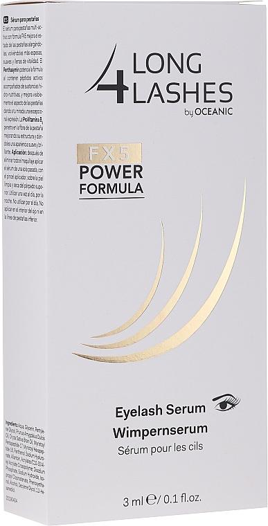 Serum przyspieszające wzrost rzęs - Long4Lashes FX5 Power Formula EyeLash Serum — фото N1