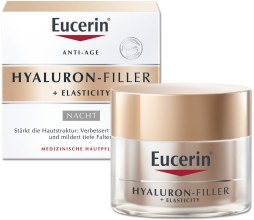 Kup Przeciwstarzeniowy krem do twarzy na noc - Eucerin Hyaluron-Filler + Elasticity Night Cream