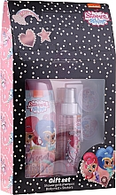 Kup Zestaw - Uroda Polska Shimmer Shine Gift Set (sh/gel/250ml + b/mist/110ml + stickers)