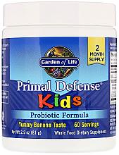 Kup PRZECENA! Formuła probiotyczna dla dzieci o smaku bananowym - Garden of Life Primal Defense Kids Probiotic Formula *