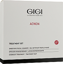 Kup Zestaw do makijażu - Gigi Treatment Set (cleanser/100ml + night/cr/50ml + refresher/120ml)