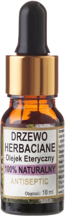 Naturalny antyseptyczny olejek z drzewa herbacianego - Biomika