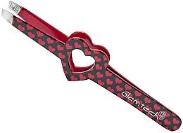 Kup Pęseta do brwi, czarna z czerwonymi serduszkami - Glamtech Valentines Tweezer
