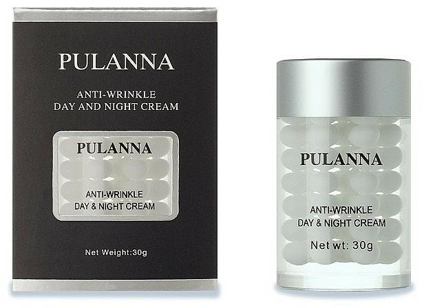 Przeciwzmarszczkowy krem do twarzy na dzień i na noc - Pulanna Ginseng Day & Night Cream — фото N1