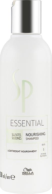 Odżywczy szampon do włosów bez obciążania - Wella SP Essential Nourishing Shampoo — фото N1