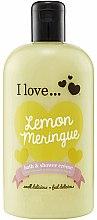 Kup Krem do kąpieli i pod prysznic Tarta cytrynowa - I Love... Lemon Meringue Bath And Shower Cream
