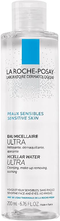 Woda micelarna do skóry wrażliwej - La Roche-Posay Micellar Water Ultra — фото N1