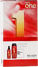 Kup Zestaw - Revlon Professional Uniq One Uniqone Duo Pack (spray/150ml + sham/condit/300ml)