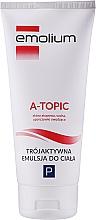 Kup Trójaktywna emulsja do ciała do skóry atopowej, suchej i uporczywie swędzącej - Emolium A-topic Emulsion