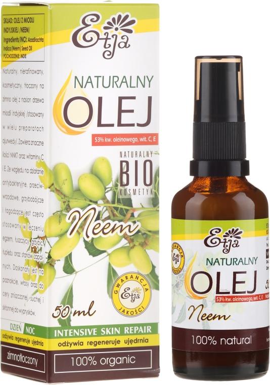 Naturalny olej z neem - Etja
