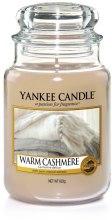 Kup Świeca zapachowa w słoiku - Yankee Candle Warm Cashmere