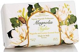 Kup Naturalne mydło w kostce Magnolia i lipa - Saponificio Artigianale Fiorentino Magnolia&Linden Soap