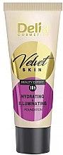 Kup Nawilżająco-korygujący podkład w kremie - Delia Mineral Velvet Skin