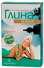 Kup Naturalna kosmetyczna glinka zielona ze srebrem - MedikoMed