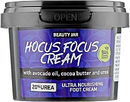 Kup Ultraodżywczy krem do stóp z olejem z awokado, masłem kakaowym i mocznikiem - Beauty Jar Hocus Focus Cream Ultra Nourishing Foot Cream