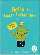 Kup Maska w płachcie z ekstraktem z kaktusa - Quret Hello Friends Cactus Mask