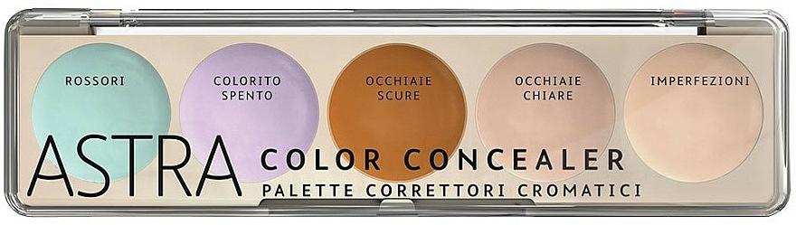 Paleta korektorów do twarzy - Astra Make-Up Color Concealer Camouflage — фото N1