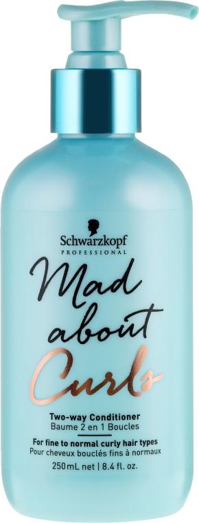 Odżywka do włosów cienkich i normalnych - Schwarzkopf Professional Mad About Curls Two-way Conditioner — фото N1