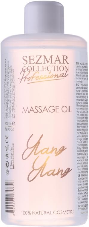 Olejek do masażu Ylang-ylang - Sezmar Collection Professional Massage Oil Ylang Ylang — фото N1
