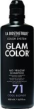 Kup Szampon dla blondynek neutralizujący żółte tony - La Biosthetique Glam Color No Yellow Shampoo .71 Cool Blonde