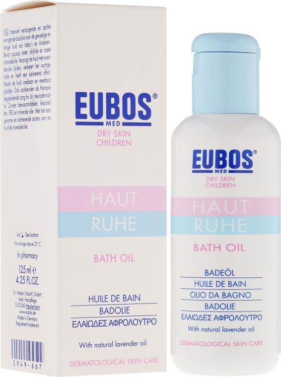 Olejek do kąpieli dla dzieci - Eubos Med Dry Skin Children Calm Skin Bath Oil — фото N1
