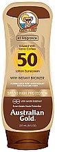 Kup Przeciwsłoneczny balsam brązujący do opalania SPF 50 - Australian Gold Bronzer Lotion SPF50