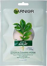 Kup Organiczna gąbka konjac do mycia twarzy - Garnier Bio Polishing Konjac Botanical Cleansing Sponge