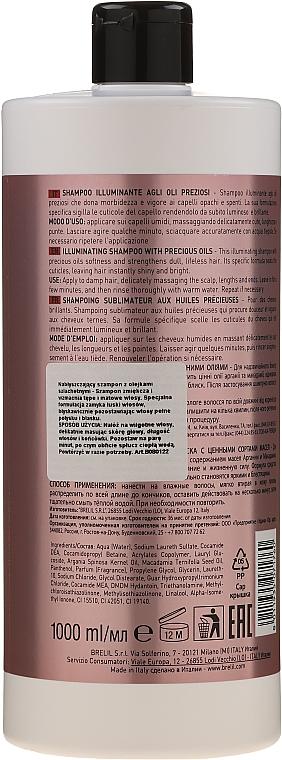 Szampon do włosów z olejem Macassar i keratyną - Brelil Numero Hair Professional Beauty Macassar Oil Shampoo — фото N4