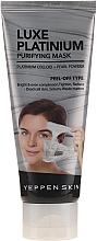 Kup PRZECENA! Oczyszczająca maska peel-off do każdego rodzaju skóry z platyną koloidalną - Yeppen Skin Purifying Mask Luxe Platinum Peel-off *