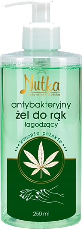 Antybakteryjny żel łagodzący do rąk - Nutka Konopie polskie — фото N4