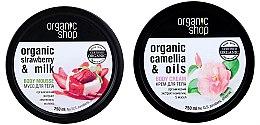 Kup Zestaw kosmetyków do pielęgnacji ciała - Organic Shop (b/mousse 250 ml + b/cr 250 ml)