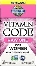 Kup Multiwitaminy dla kobiet - Garden of Life Vitamin Code Raw One for Women