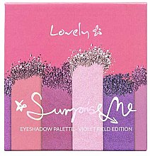 Kup Paletka cieni do powiek - Lovely Surprise Me Eyeshadow Palette Violet Field Edition