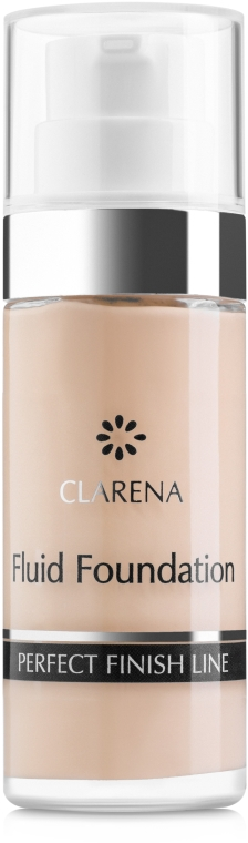 Kryjący podkład do cery naczyniowej - Clarena Fluid Long Lasting Couperose