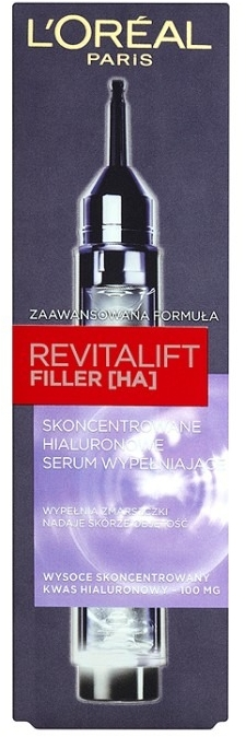 Skoncentrowane hialuronowe serum wypełniające - L'Oreal Paris Revitalift Filler [HA]