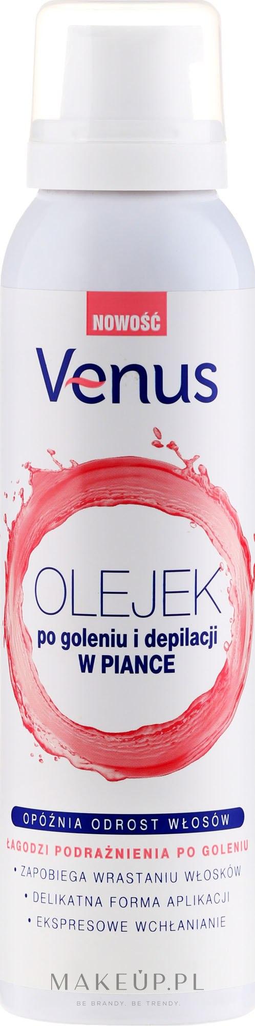 Olejek po goleniu i depilacji w piance - Venus After Shave & Depilation Oil — фото 150 ml