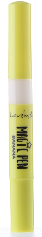 Korektor o żółtych tonach - Lovely Magic Pen Banana — фото N1