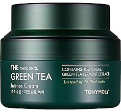 Kup Krem intensywnie nawilżający z ekstraktem z zielonej herbaty - Tony Moly The Chok Chok Green Tea Intense Cream