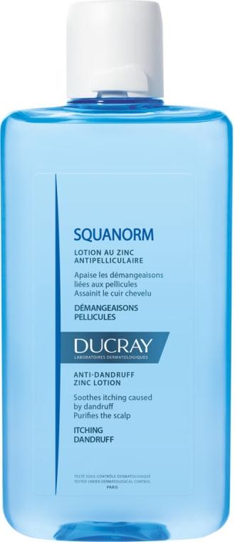Lotion przeciwłupieżowy z cynkiem - Ducray Squanorm Anti-Dandruff Lotion With Zinc — фото N1