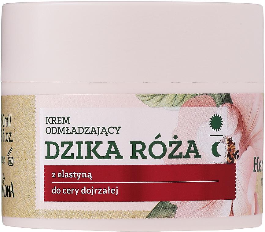 Odmładzający krem do skóry dojrzałej na dzień i na noc Dzika róża - Farmona Herbal Care Rejuvenating Cream