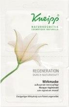 Kup Serum intensywnie regenerujące do twarzy - Kneipp Regeneration Durch Naturkraft Wirkmaske