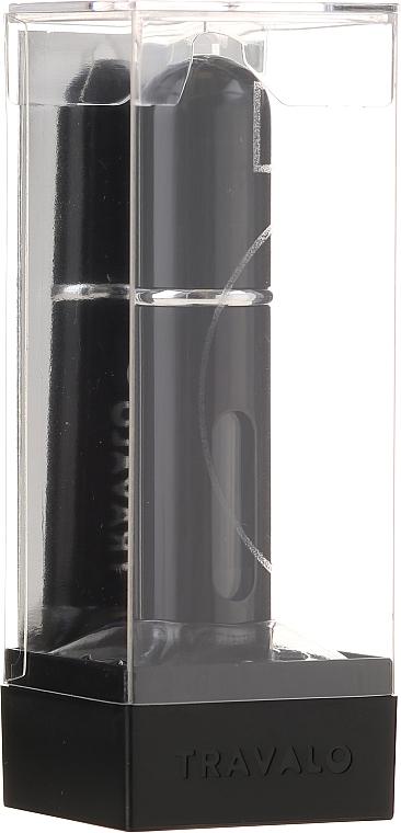 Purse spray atomizer na perfumy - Travalo Classic HD Easy Fill Perfume Spray Black — фото N1