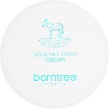 Parowy krem mleczny do twarzy i ciała - Borntree Gold Milk Steam Cream — фото N2