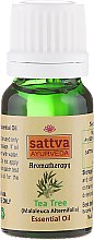 Olejek z drzewa herbacianego - Sattva Ayurveda Aromatherapy Tea Tree Essential Oil — фото N2