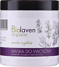Kup Maska do włosów z olejkiem i ekstraktem z winogron i olejkiem lawendowym - Biolaven Organic Hair Mask
