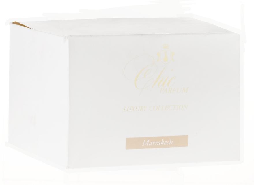 Świeca zapachowa w szkle - Chic Parfum Luxury Collection Marrakech Candle — фото N3